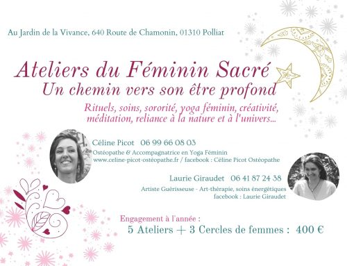 Ateliers du « Féminin Sacré »